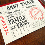 baby train ticket