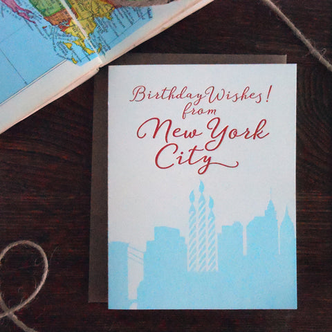 birthday wishes from new york city
