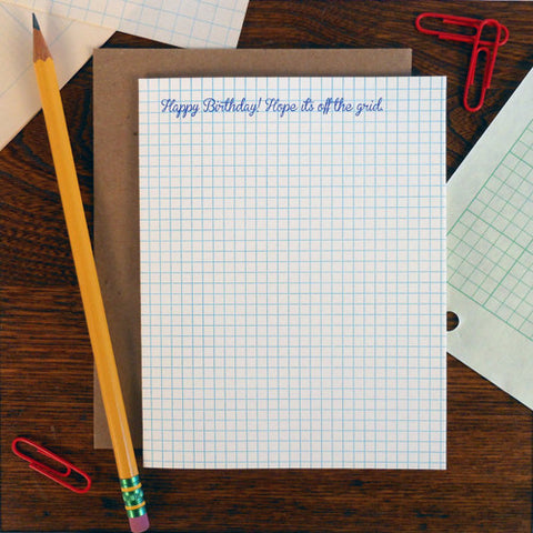 birthday graph paper
