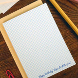 birthday grid paper