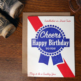 blue ribbon birthday