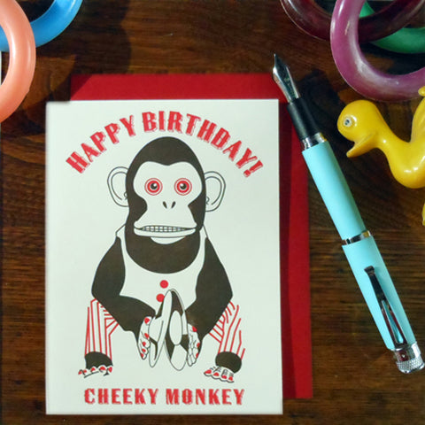 cheeky monkey birthday