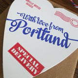 special delivery heart from portland