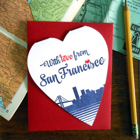 with love from san francisco
