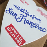special delivery heart from san francisco