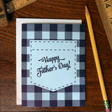 father's day plaid