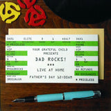 dad rock ticket