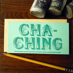 cha-ching money holder