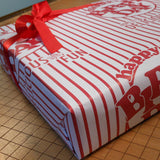 birthday popcorn gift wrap sheets