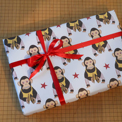 cheeky monkey gift wrap