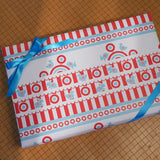 shooting gallery gift wrap sheets