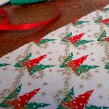 vintage tiny christmas tree tinsel vintage gift wrap