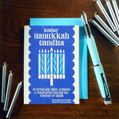 hanukkah candle box