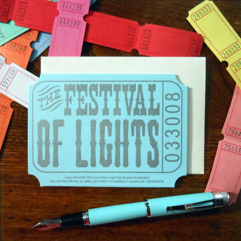 the festival of lights ticket