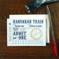 hanukkah train ticket
