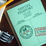 santa's passport - california