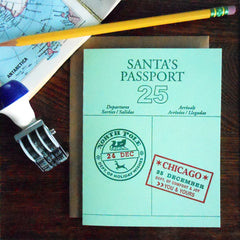 santa's passport - chicago