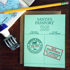 santa's passport - san francisco