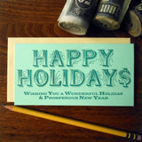 holiday$ money holder