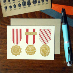holiday vintage medals