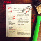 kris kringle resume