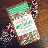 holiday sprinkle