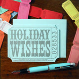 holiday wishes ticket