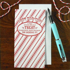 holiday treat bag