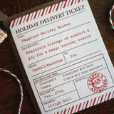 elfficial delivery ticket
