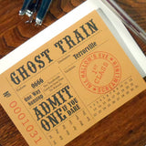 halloween train ticket