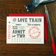 love train ticket
