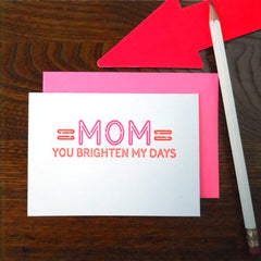 neon mom sign