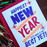 grocery new year sign