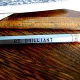you're brilliant pencil