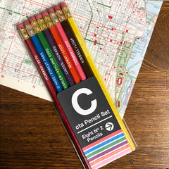 chicago el pencil set
