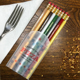 chicago pizza pencil set
