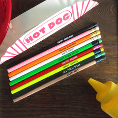 chicago dog pencil set