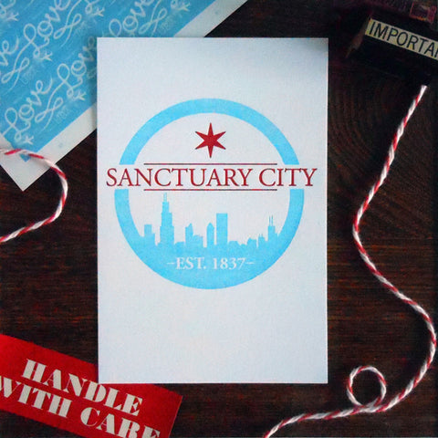 chicago sanctuary city logo