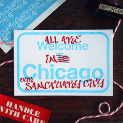 chicago sanctuary city sign
