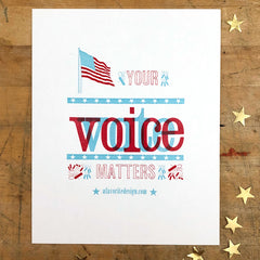your voice - vote matters
