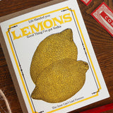 vintage lemon seed pack