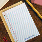 i'm thinking of you notebook paper