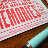 comforting memories ticket