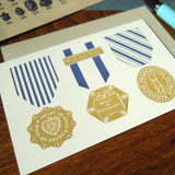 thank you vintage medals