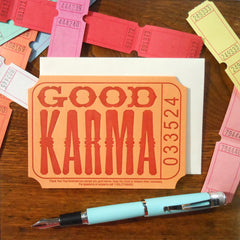 good karma ticket