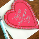 heart shaped valentine