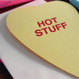 hot stuff conversation heart