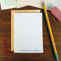 wedding grid paper