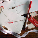 snail mail love paper tape