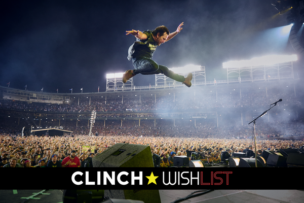 Danny Clinch Crates at Wishlist